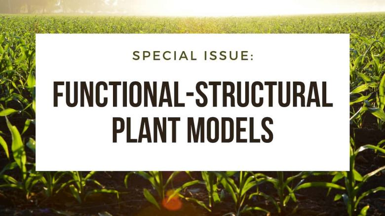 A banner for the Functional-Structural Plant Models issue.