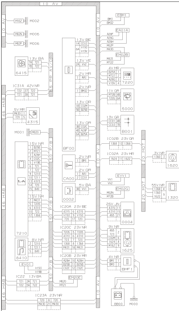 Peugeot 406 Wiring Diagram Sel on peugeot 205 wiring diagram