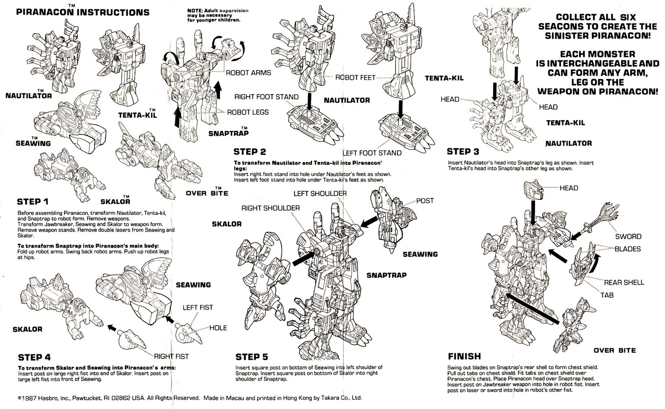 Botch S Transformers Box Art Archive