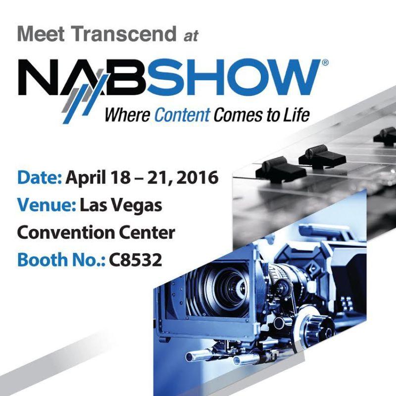 Transcend-NABShow2016-event