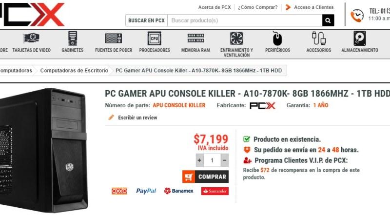 PCX-PCGamerAPU-Consolekiller