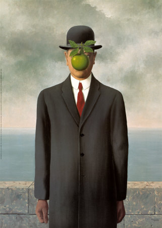 René Magritte - The son of man (1964)