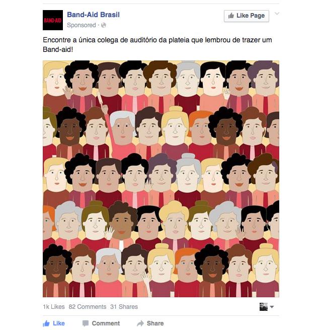 Band-Aid Facebook