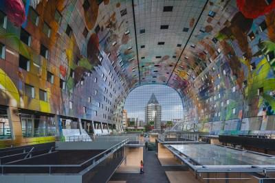 o que teve no What Design Can Do 2016 - FAAP - Markthal