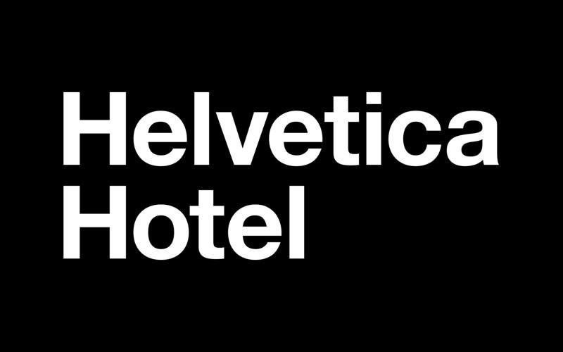 Helvetica Hotel - Boteco Design