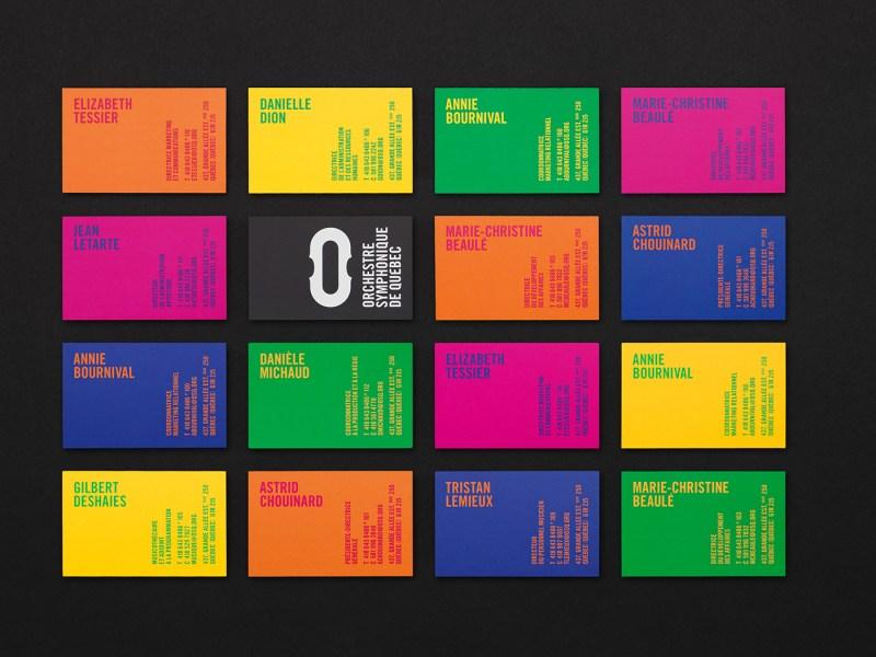 Orchestre Symphonique de Quebec - identidade visual - Boteco Design