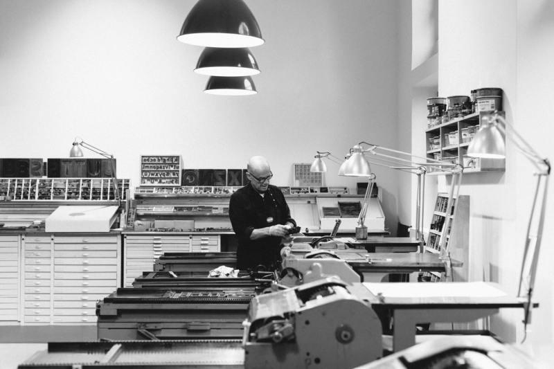 p98a - gráfica letterpress em Berlim - Boteco Design