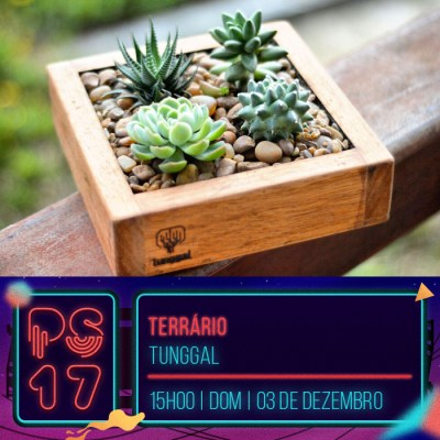 Pixel Show 2017 - workshop: Terrário - Tunggal - Boteco Design