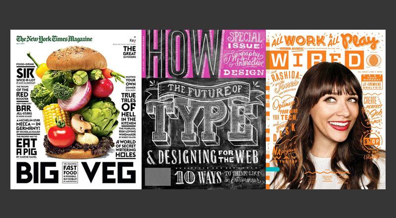 Inspiração Design Editorial - Capas de Revista - Boteco Design