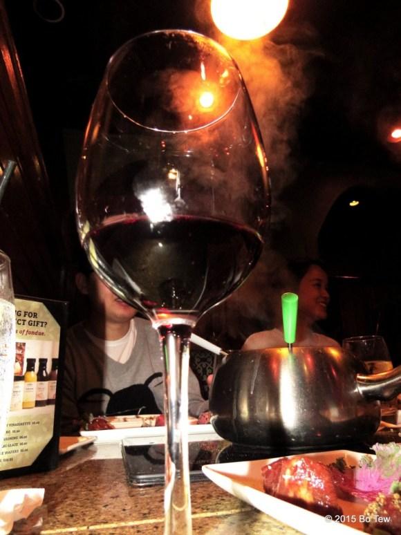 My glass of wine!