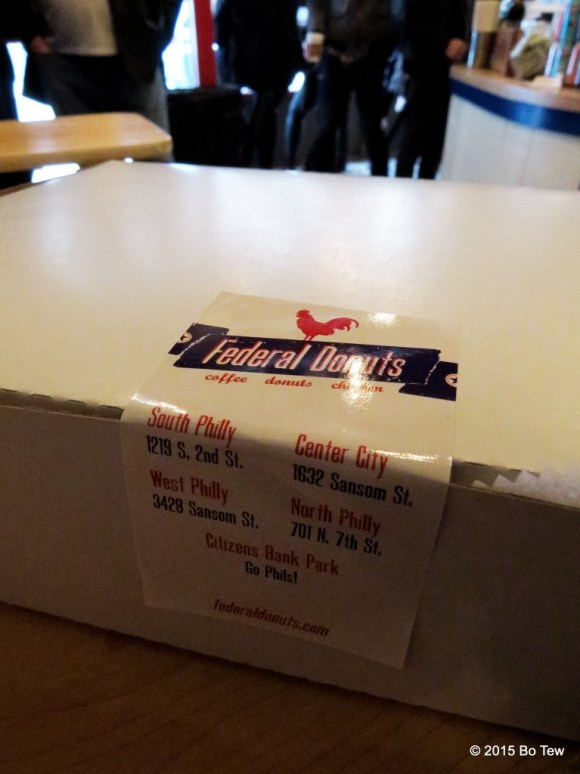A Federal Donut Box.