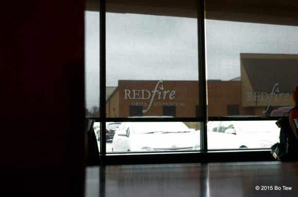 Redfire Grill.