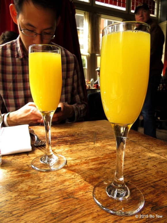 Mimosa in the morning!