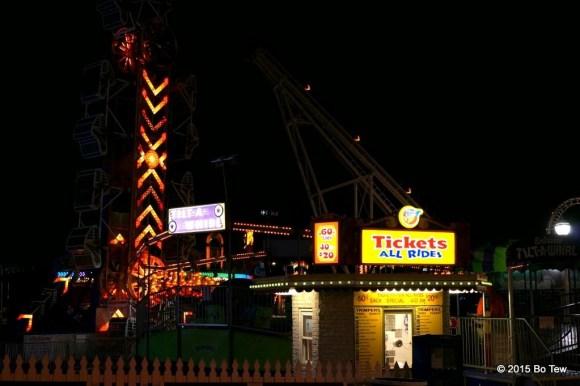Just some amusement rides.