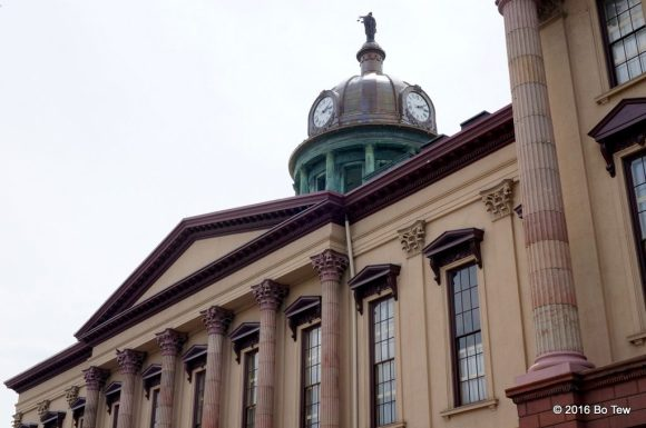 Side view of Lancaster Court House