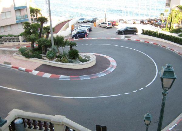 Monoco F1 Track