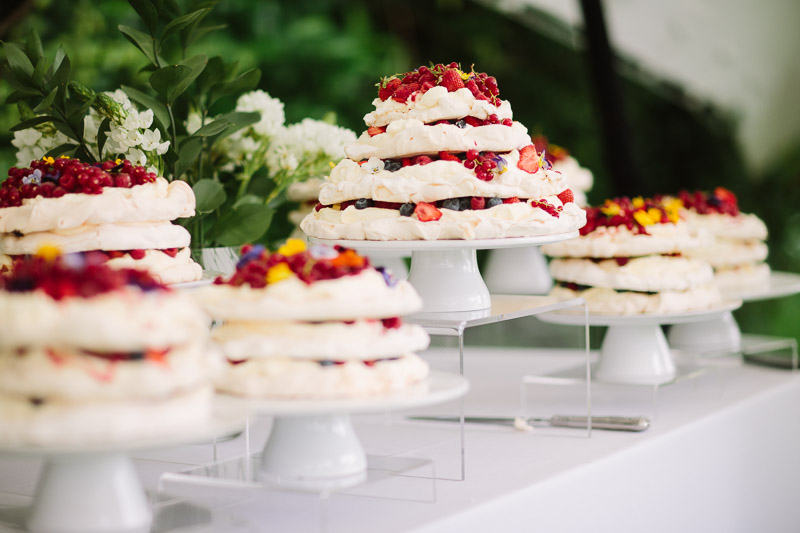 Pavlova Pudding Stall by Two Many Cooks, Surrey