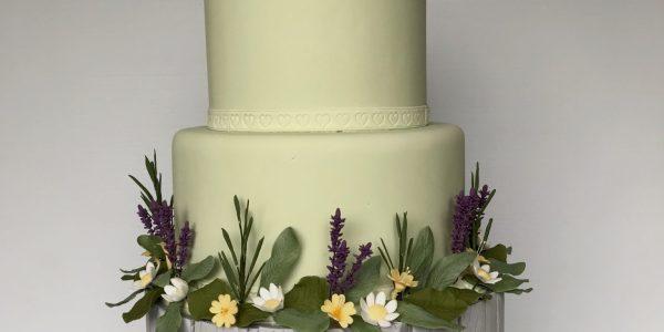 Sharon Lord wedding cake