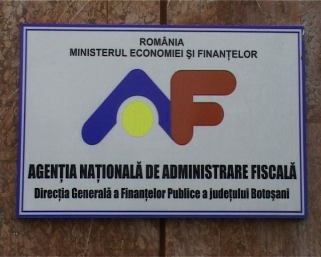 Directia generala a Finantelor Publice Botosani