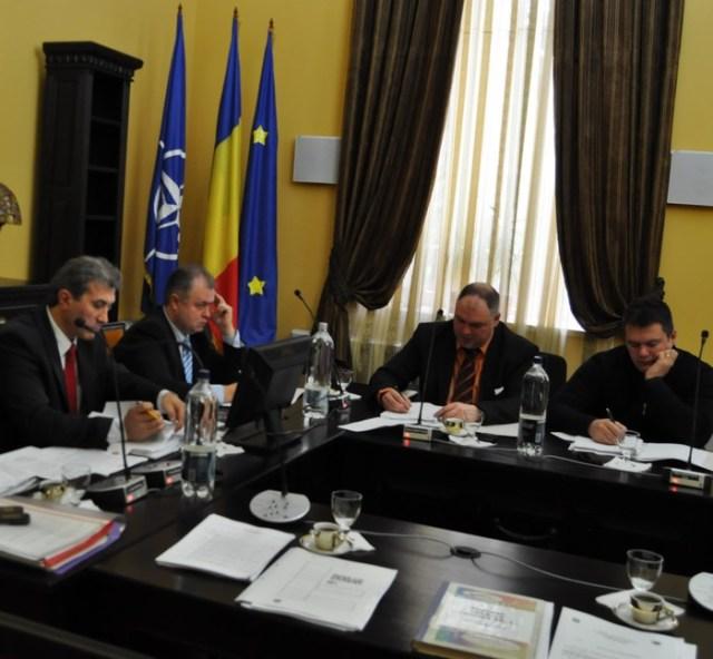 sedinta Consiliul Local Botosani, octombrie 2011