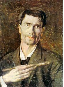 Stefan Luchian- Un zugrav (autoportret)
