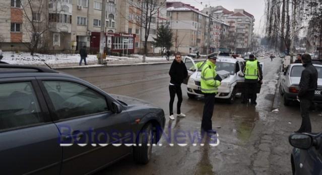 accident pe strada Ion Pillat Botosani