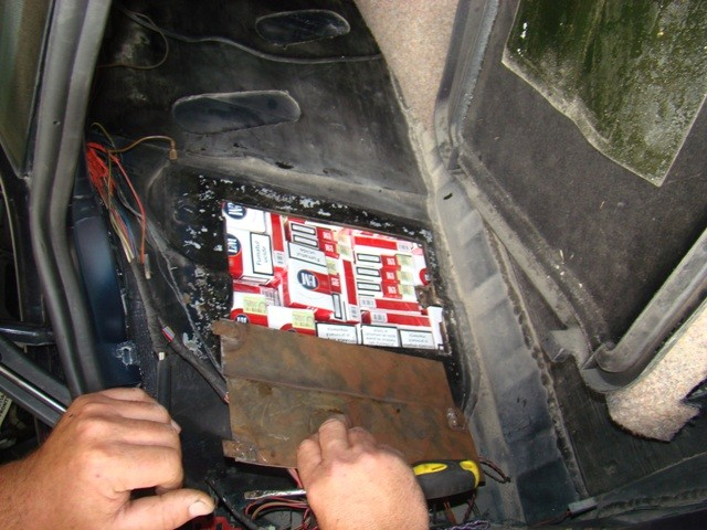 tigari dosite in masina