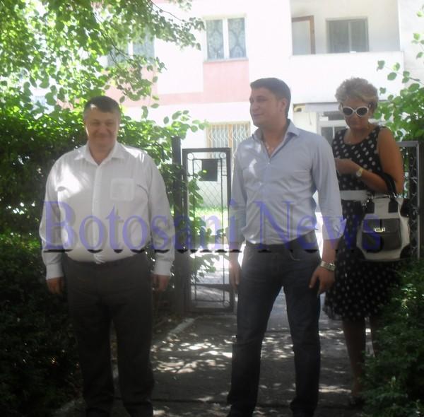 Florin si Mihai Turcanu la vot