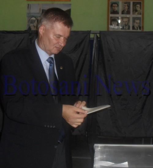 Gheorghe Marcu, liderul PSD Botosani la referendum