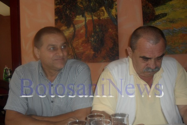 Gheorghe Iavorenciuc si Mircea Costic