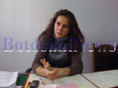 Mihaela Mihai, prim procuror Parchetul de pe linga Tribunalul Botosani