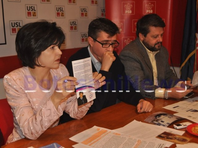 Doina Federovici si Andrei Dolineaschi in campania electorala