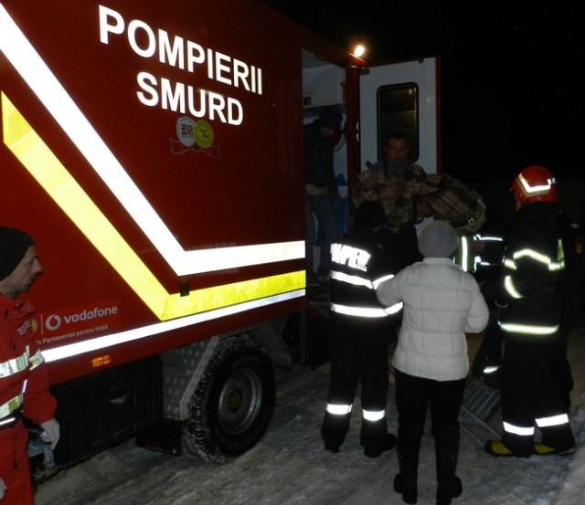 copil transporttat la Spitalul de Copii Botosani de SMURD