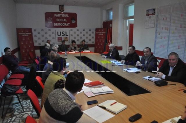 biroul permanent judetean al PSD Botosani
