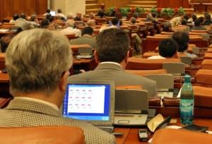 parlamentari pe laptop, stiri, botosani