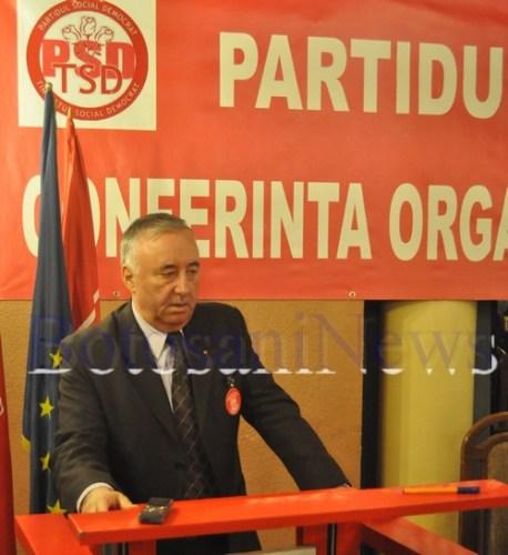 Gheorghe Vazdoaga la Conferinta TSD Botosani