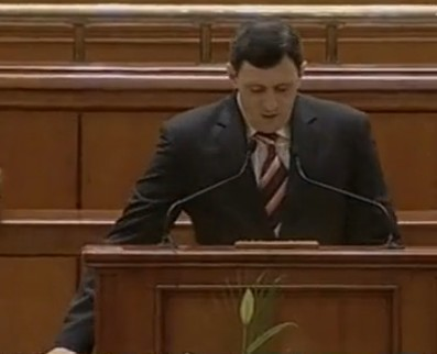 Verginel Gireada in Parlament