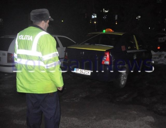 taximetrist injunghiat la Botosani