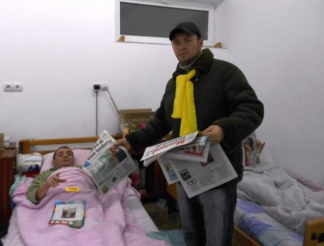 ziare pentru bolnavii din Spitalul Judeţean Botosani