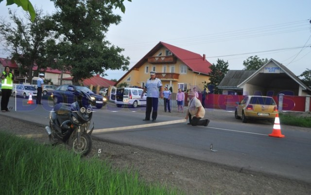 accident moped Catamarasti