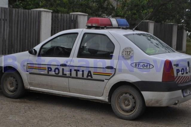 masina de politie rurala