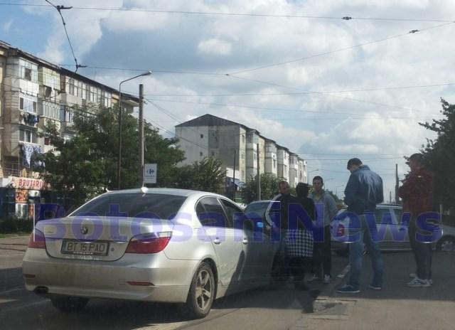 accident Cristina Bresug in strada Primaverii