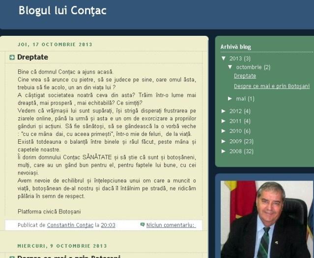 blogul lui Contac
