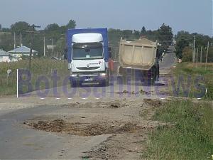 drum vorona cu camioane