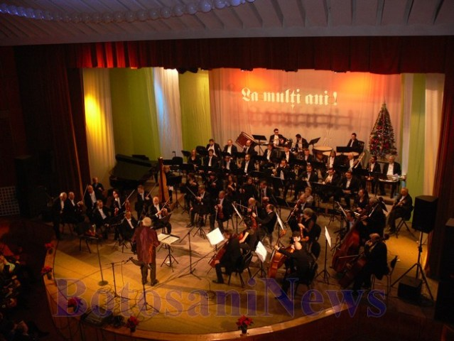 concert filarmonica botosani de craciun