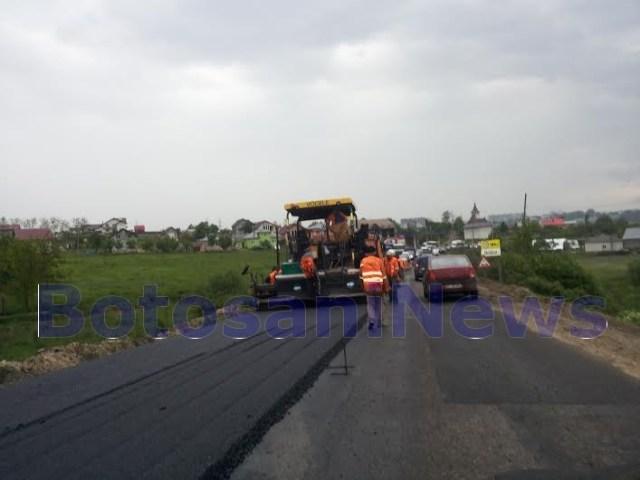 asfaltare E58 Botosani- Suceava