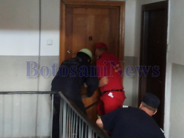 pompieri spart usa apartament botosani