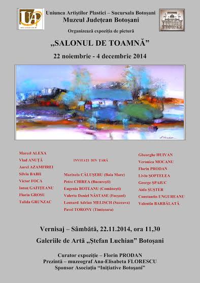 Salon de toamna, expozitie la Galeriile de Arta Stefan Luchian