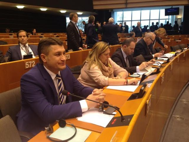 Mihai Turcanu in Parlamentul European