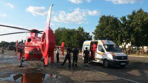 elicopter smurd- ambulanta ACR Botosani